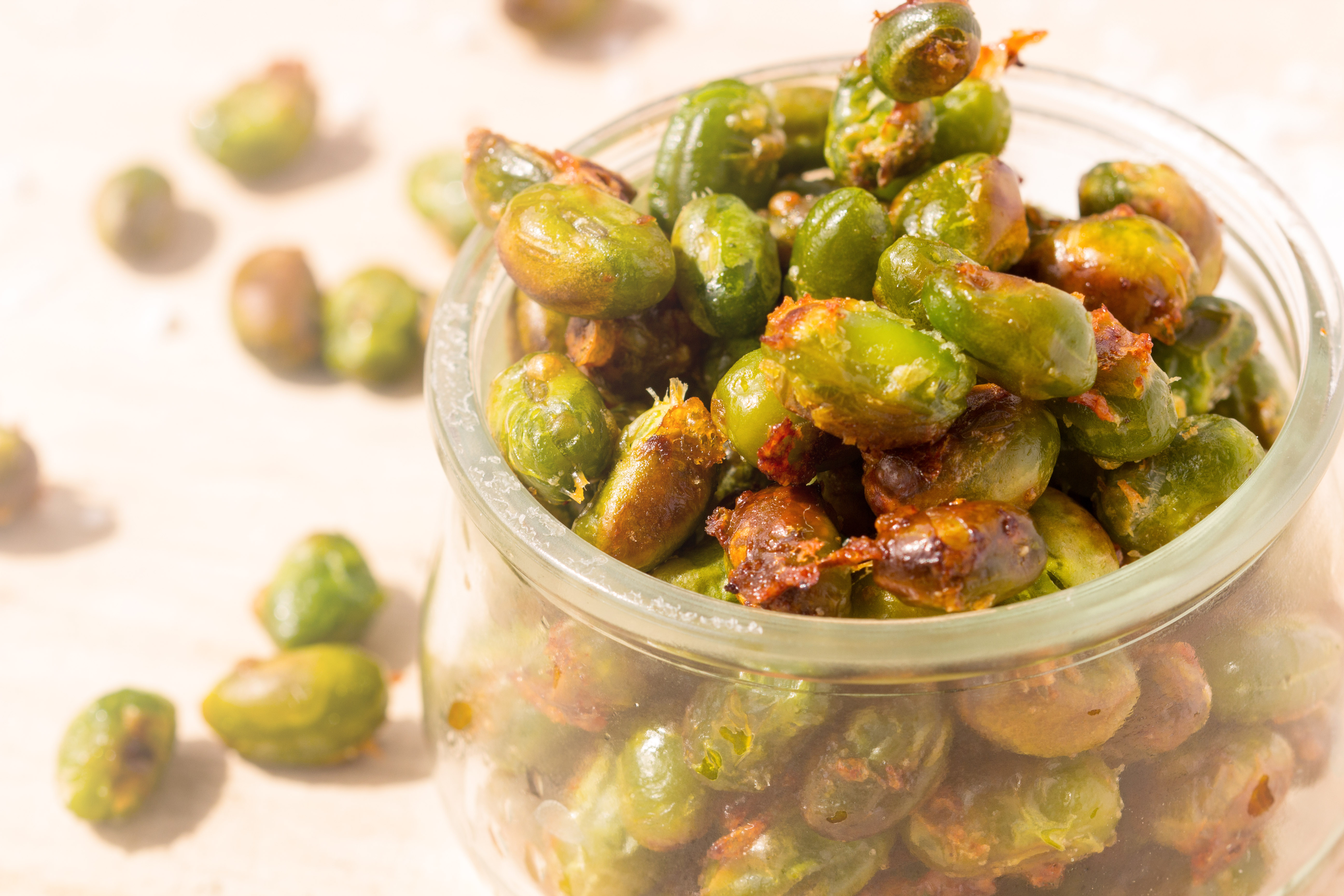 edamame bohnen snack- healthy soulfood